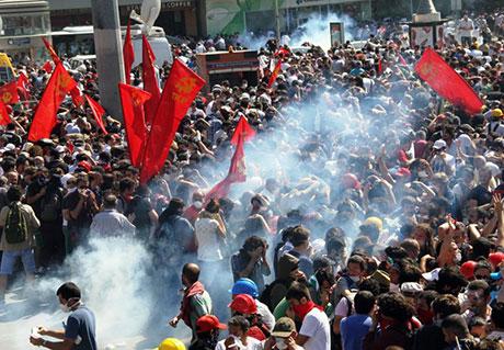Fotoğraflarla Gezi Park'ı eylemi galerisi resim 76