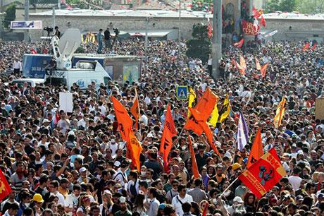 Fotoğraflarla Gezi Park'ı eylemi galerisi resim 78