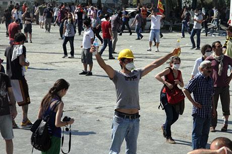 Fotoğraflarla Gezi Park'ı eylemi galerisi resim 81