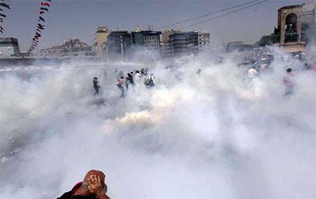 Fotoğraflarla Gezi Park'ı eylemi galerisi resim 84