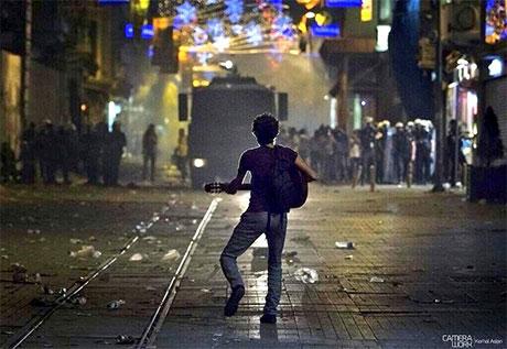Fotoğraflarla Gezi Park'ı eylemi galerisi resim 87