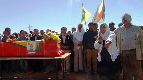Şervan Müslim'in cenaze töreninden galerisi resim 4