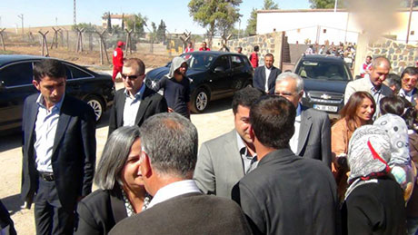 BDP ve DTK heyeti Rojava'da galerisi resim 1