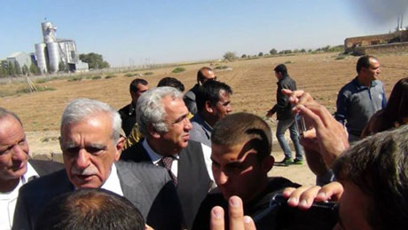 BDP ve DTK heyeti Rojava'da galerisi resim 11