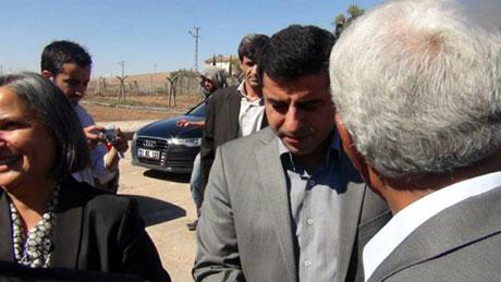 BDP ve DTK heyeti Rojava'da galerisi resim 12