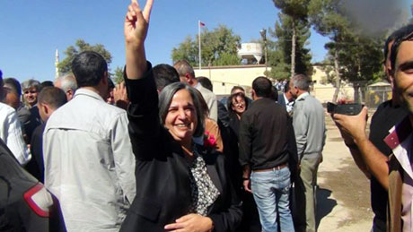 BDP ve DTK heyeti Rojava'da galerisi resim 13