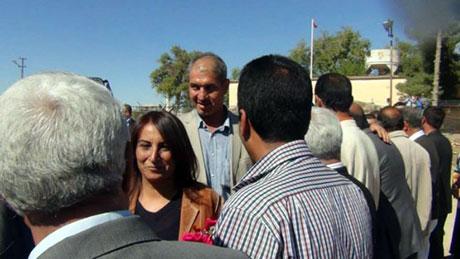 BDP ve DTK heyeti Rojava'da galerisi resim 15