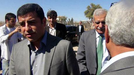 BDP ve DTK heyeti Rojava'da galerisi resim 16