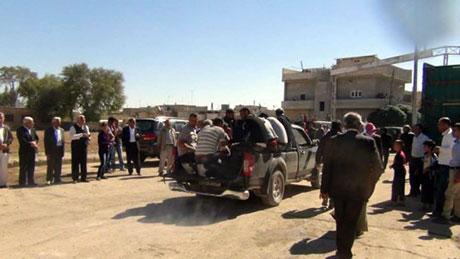 BDP ve DTK heyeti Rojava'da galerisi resim 17