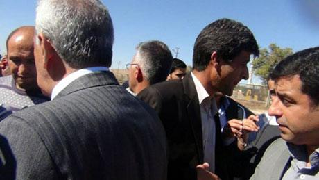BDP ve DTK heyeti Rojava'da galerisi resim 18