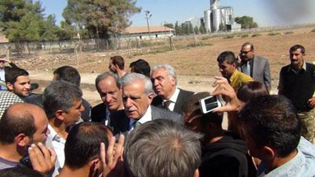 BDP ve DTK heyeti Rojava'da galerisi resim 20