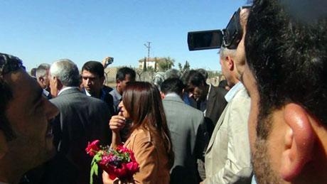 BDP ve DTK heyeti Rojava'da galerisi resim 21