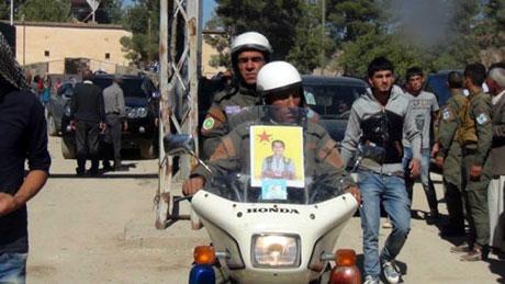 BDP ve DTK heyeti Rojava'da galerisi resim 25