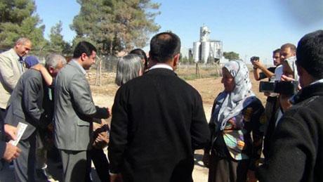 BDP ve DTK heyeti Rojava'da galerisi resim 26