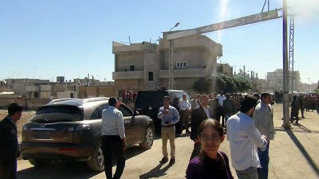 BDP ve DTK heyeti Rojava'da galerisi resim 28