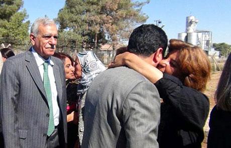 BDP ve DTK heyeti Rojava'da galerisi resim 30