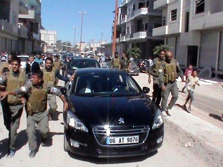 BDP ve DTK heyeti Rojava'da galerisi resim 31