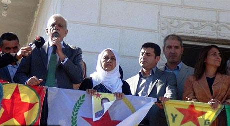 BDP ve DTK heyeti Rojava'da galerisi resim 32