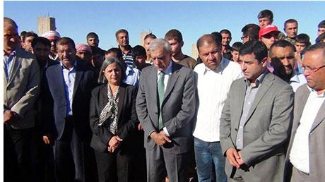 BDP ve DTK heyeti Rojava'da galerisi resim 35