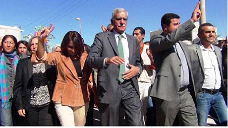 BDP ve DTK heyeti Rojava'da galerisi resim 36