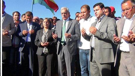 BDP ve DTK heyeti Rojava'da galerisi resim 37