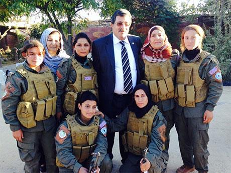 BDP ve DTK heyeti Rojava'da galerisi resim 38