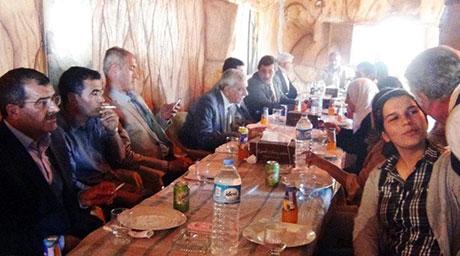 BDP ve DTK heyeti Rojava'da galerisi resim 39
