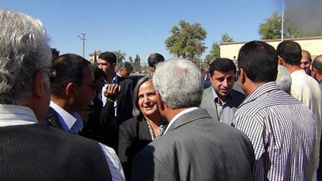BDP ve DTK heyeti Rojava'da galerisi resim 4