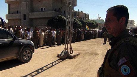 BDP ve DTK heyeti Rojava'da galerisi resim 42