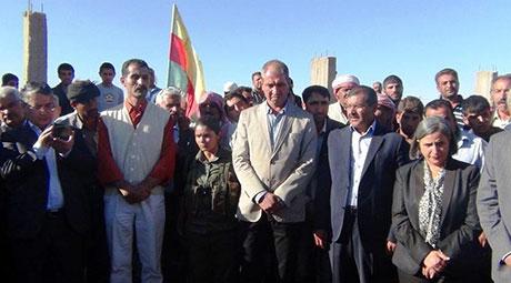 BDP ve DTK heyeti Rojava'da galerisi resim 45