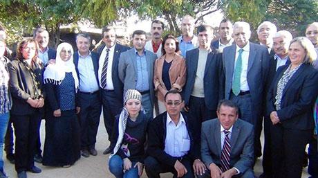 BDP ve DTK heyeti Rojava'da galerisi resim 46