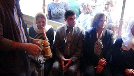 BDP ve DTK heyeti Rojava'da galerisi resim 48