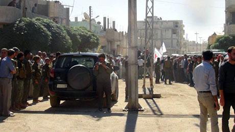 BDP ve DTK heyeti Rojava'da galerisi resim 5