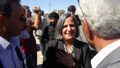 BDP ve DTK heyeti Rojava'da galerisi resim 6