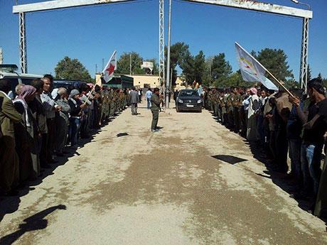 BDP ve DTK heyeti Rojava'da galerisi resim 7