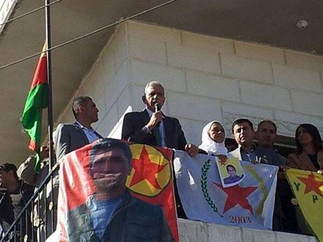 BDP ve DTK heyeti Rojava'da galerisi resim 8