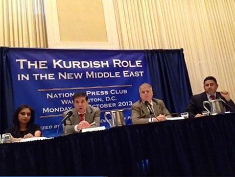 Washington'da ilk Kürt konferansı yapıldı galerisi resim 13