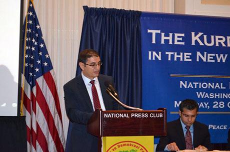 Washington'da ilk Kürt konferansı yapıldı galerisi resim 18