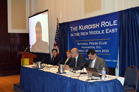 Washington'da ilk Kürt konferansı yapıldı galerisi resim 26