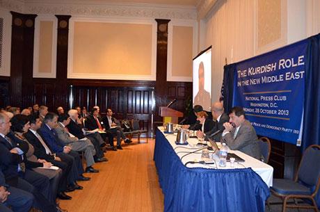 Washington'da ilk Kürt konferansı yapıldı galerisi resim 4