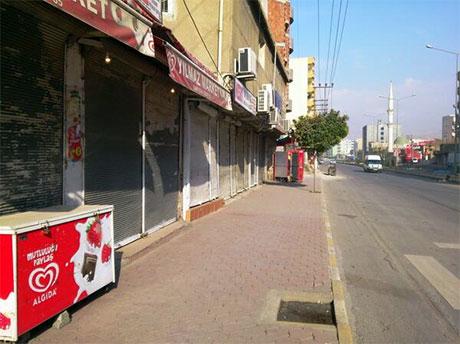 Nusaybin'de-Rojava'da duvar protesto edildi galerisi resim 10