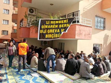 Nusaybin'de-Rojava'da duvar protesto edildi galerisi resim 21