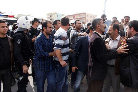Nusaybin'de-Rojava'da duvar protesto edildi galerisi resim 42