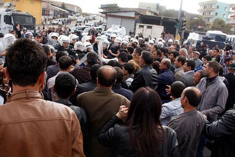 Nusaybin'de-Rojava'da duvar protesto edildi galerisi resim 44