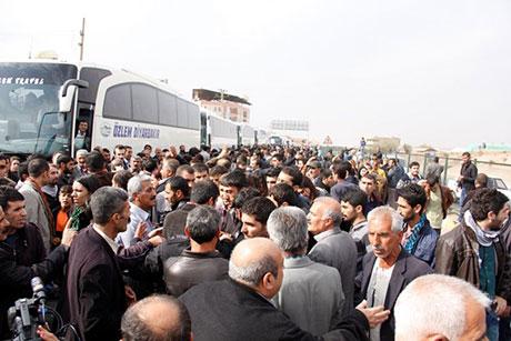 Nusaybin'de-Rojava'da duvar protesto edildi galerisi resim 45