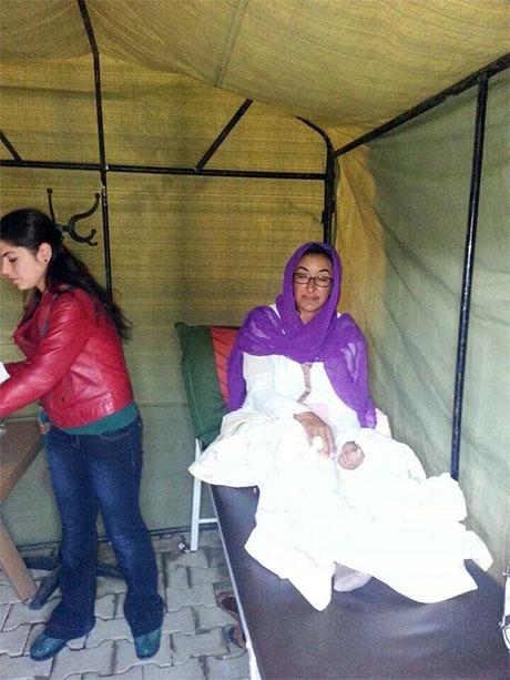 Nusaybin'de-Rojava'da duvar protesto edildi galerisi resim 5