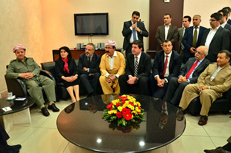 Barzani Diyarbakır Belediyesinde... galerisi resim 13