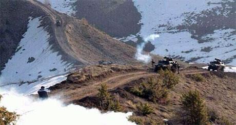 Roboski sınırında gaz bombalı müdahale galerisi resim 18