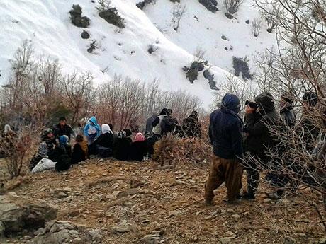 Roboski sınırında gaz bombalı müdahale galerisi resim 6