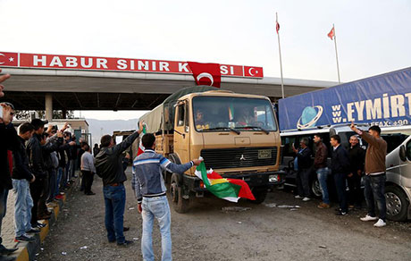 Peşmerge Kobani yolunda galerisi resim 1